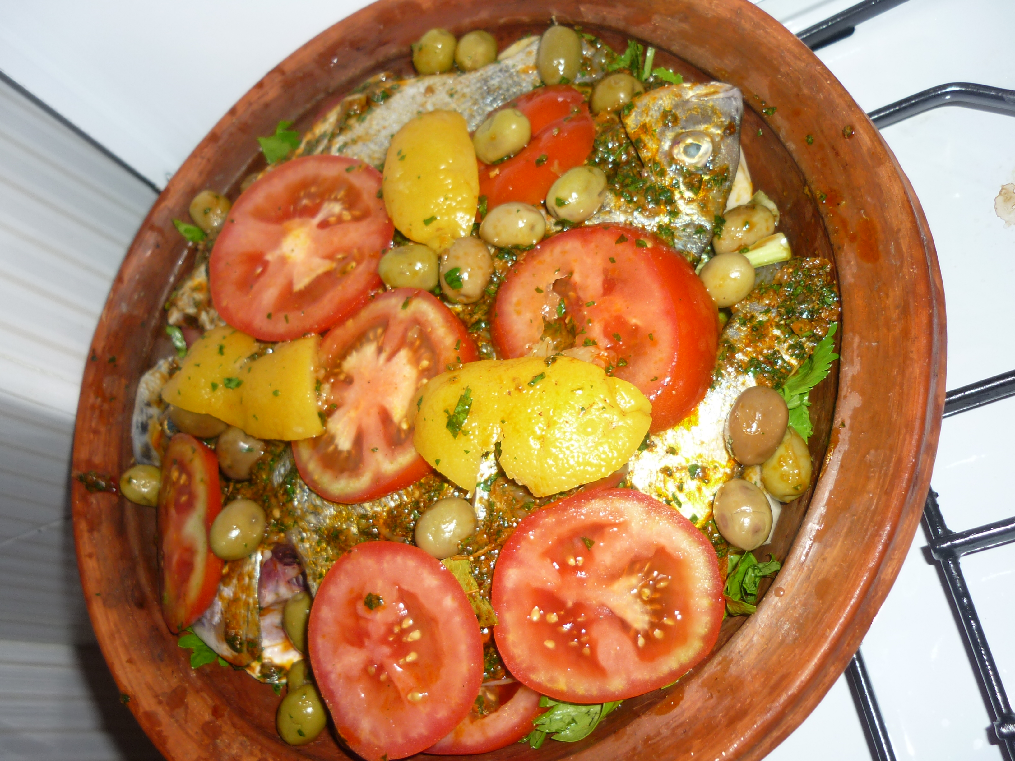 fish tagine receipe from a true moroccan mama scrawny